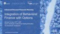 Integration of Behavioral  Finance with Options