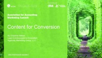 Content for Conversion