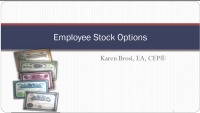 Employee Stock Option Strategies