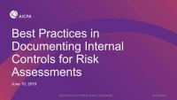 Best Practices in Documenting Internal Controls for Risk Assessments