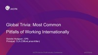 Global Trivia: Most Common Pitfalls of Working Internationally