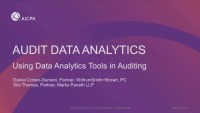 Audit Data Analytics: Using Data Analytics Tools in Auditing
