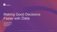 Making Good Decisions Faster With Data Tools