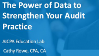 The Power of Data to Strengthen Your Audit Practice, presented by Wolters Kluwer (PST, NAA)