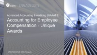 Accounting for Employee Compensation - Unique Awards