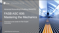 FASB ASC 606: Mastering the Mechanics