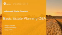 Basic Estate Planning Q&A