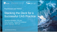 Stacking the Deck for a Successful CAS Practice