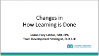 Changes in How Learning is Done