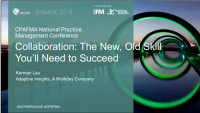 Collaboration: The New, Old Skill You'll Need to Succeed