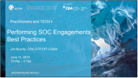 Performing SOC Engagements: Best Practices