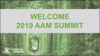 Welcome/AAM Summit Kick-off