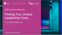 Finding Your Unique Leadership Voice