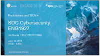 SOC for Cybersecurity (PST, NAA)