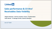 LinkedIn Case Study: Drive Sales Performance and CX Through Receivables Data Visibility