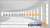 How to Build a High Performing Culture