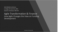 Agile Transformation & Finance - How Agile Changes the View on Funding Development