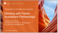Family Investment Partnerships