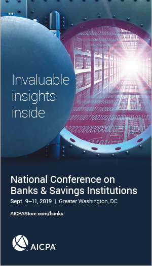 National Conference on Banks & Savings Institutions 2019