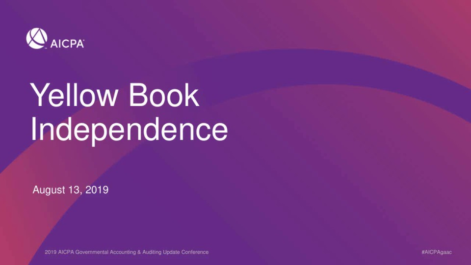 Yellow Book Independence