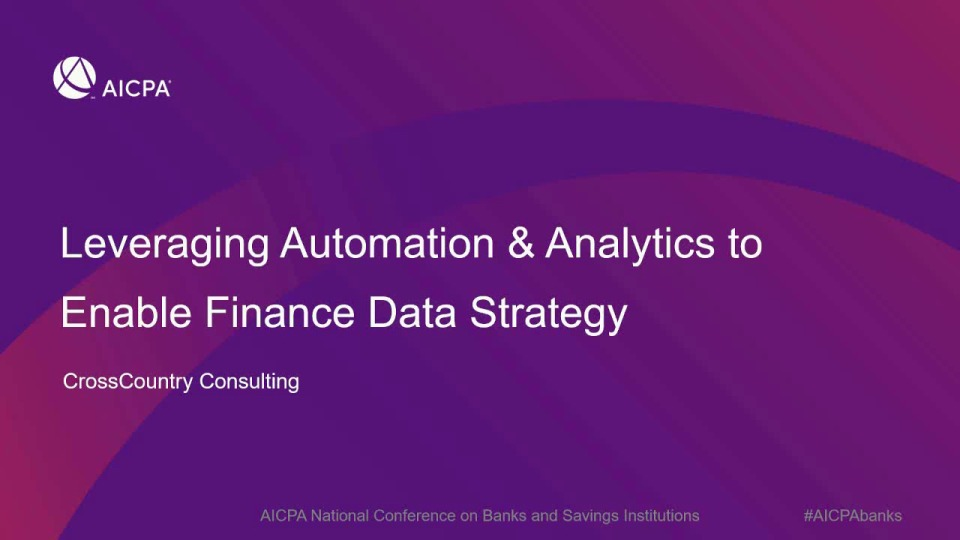 Leveraging Automation to Enable Finance Data Strategy