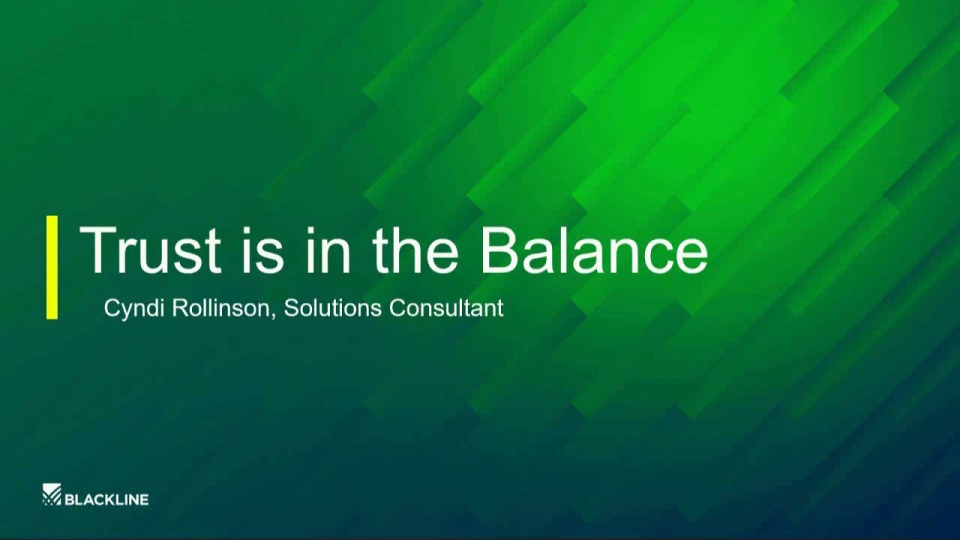 Trust is in the Balance: Technology and Financial Reporting Confidence
