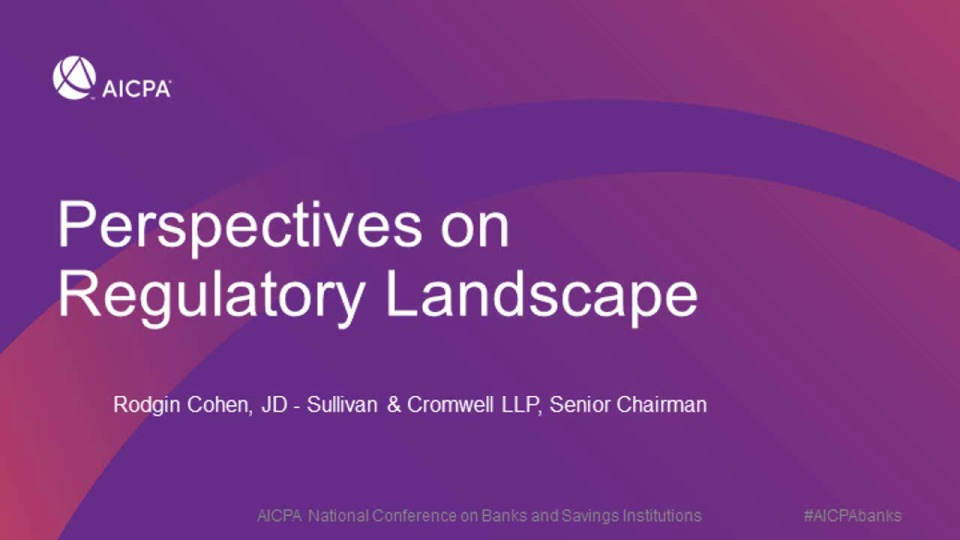 Final Remarks | Perspectives on Regulatory Landscape