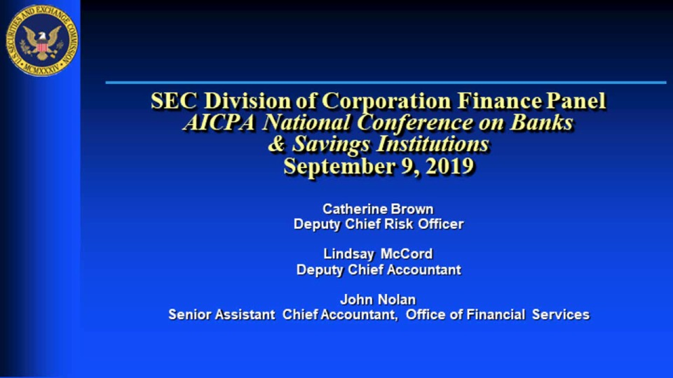 SEC Update: Developments from Corporation Finance