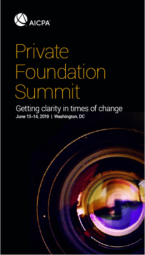 Private Foundation Summit 2019