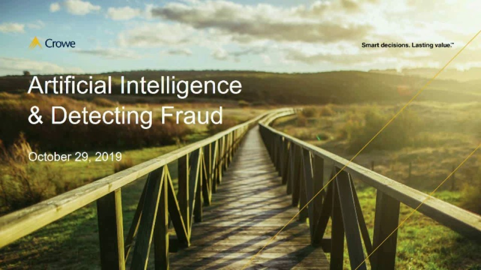 Artificial Intelligence and Detecting Fraud In Government