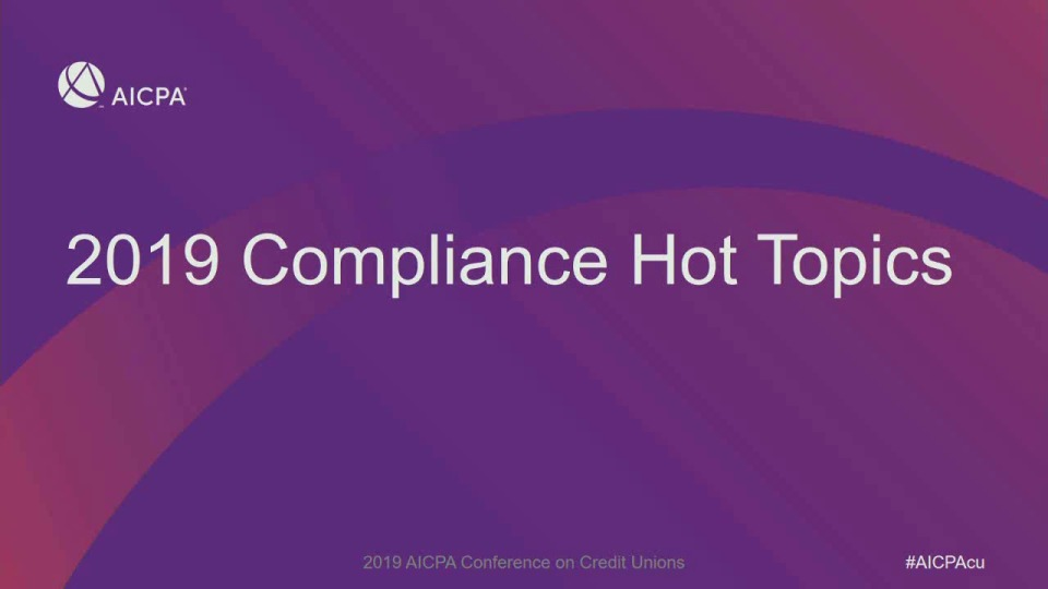 Hot Topics in Regulatory Compliance