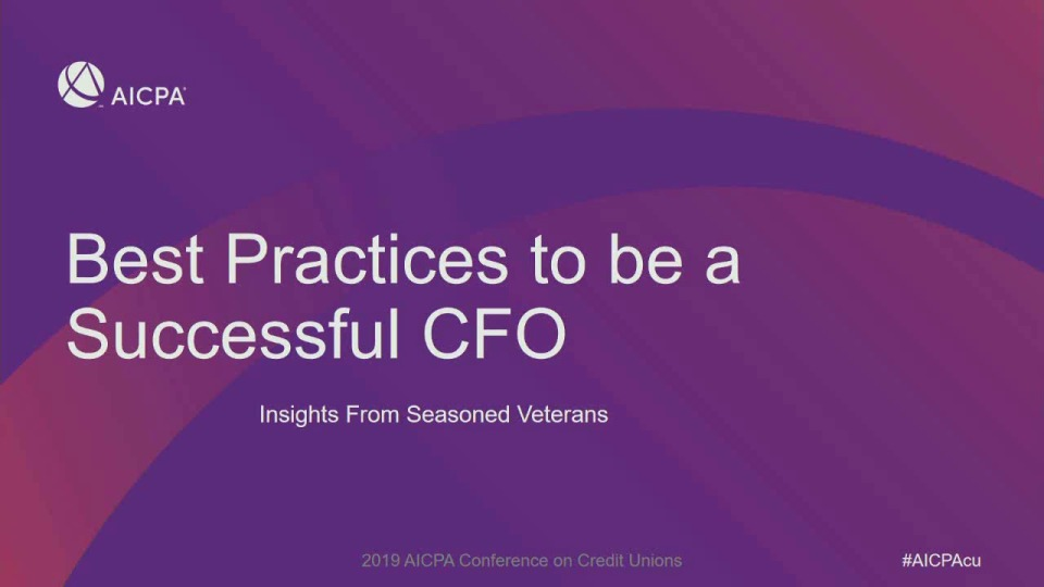Best Practices to be a Successful CFO