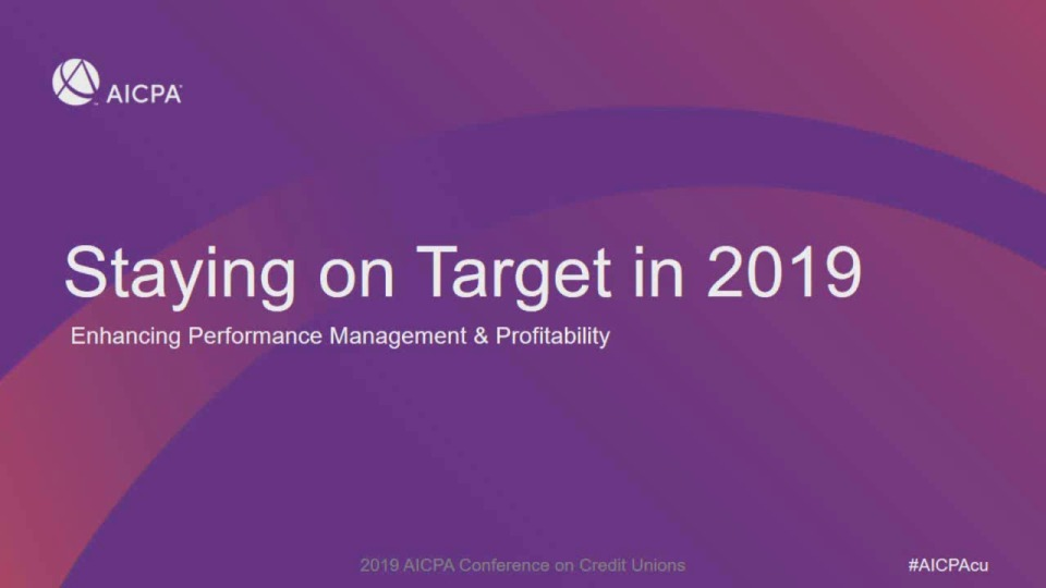 Staying on Target in 2019: Enhancing Performance Management and Profitability