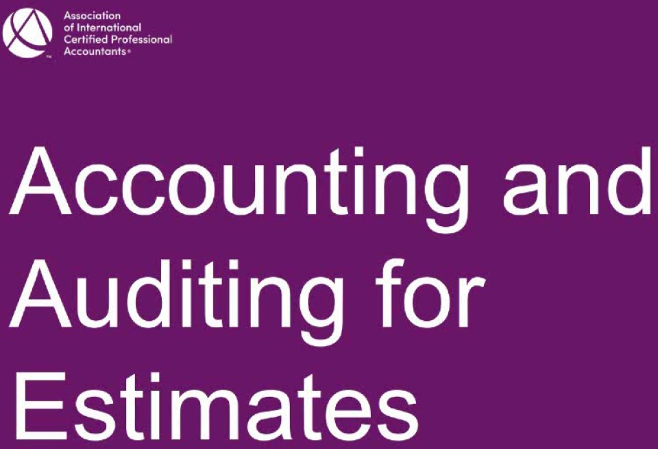 Approaching Accounting & Auditing Estimates