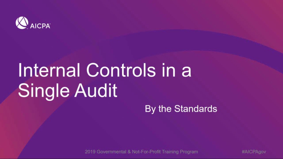 Internal Control Over Compliance: By the Standards