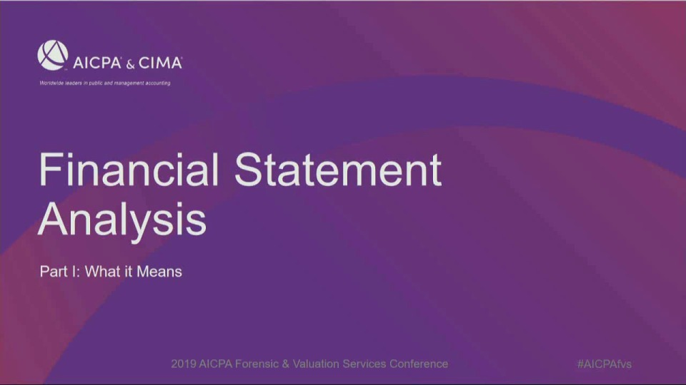 Financial Statement Analysis: What It Means
