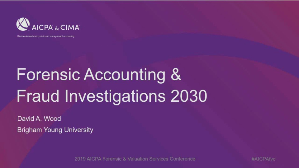 Forensic Accounting & Fraud Investigations 2030