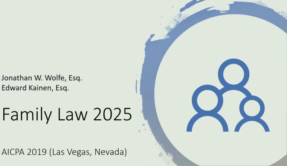"""Family Law in 2025"""