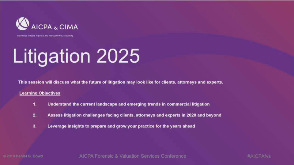 """Litigation in 2025"""