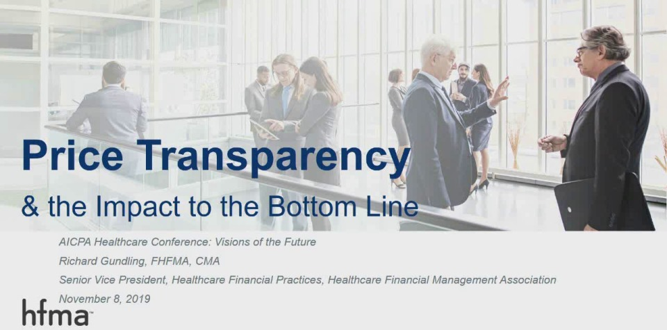 Price Transparency & the Impact to the Bottom Line
