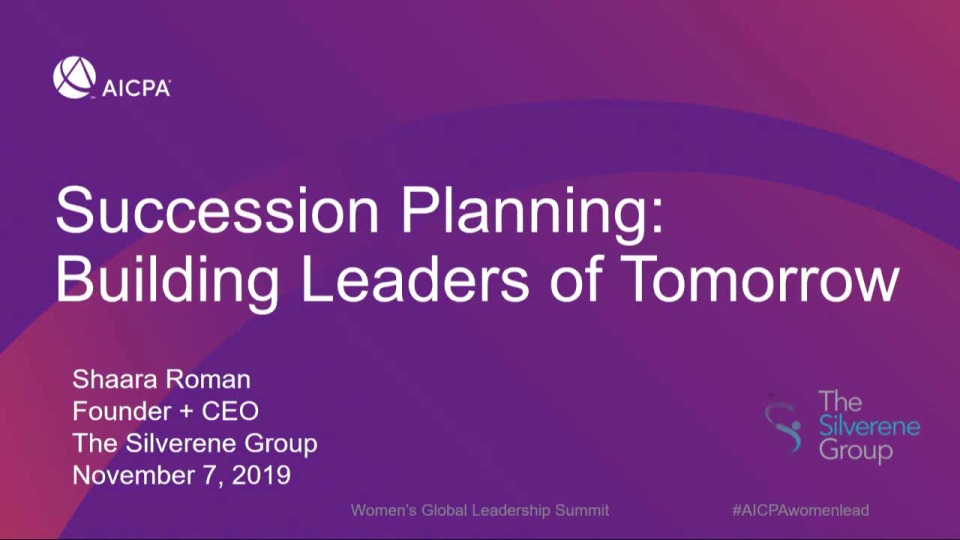 Succession Planning: Building Leaders of Tomorrow