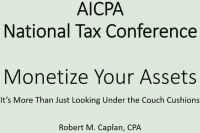 Monetizing Your Assets (Beyond Looking for Change in the Couch)