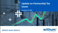 Partnership Tax Update