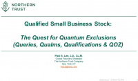 QSBS: The Quest for Quantum Exclusions (Queries, Qualms & Qualifications)