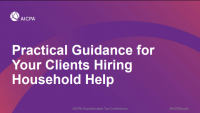 Practical Guidance for Your Clients Hiring Household Help (Sponsored by GTM Payroll Services)