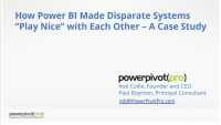 "How Power BI Made Disparate Systems ""Play Nice"" with Each Other"