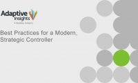 Best Practices for the Modern, Strategic Controller