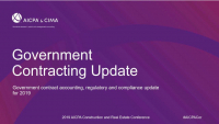 Government Contracting Update