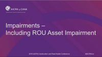 Long-Lived Asset Impairment Under ASC Topic 360