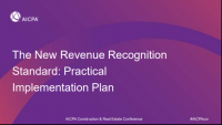Practical Application of the New Revenue Recognition Standards